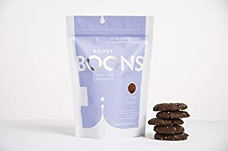 Booby Boons Lactation Cookies, Cocoa Quinoa. 6oz bag. Delicious, Award Winning, Wheat-Free, Soy-Free, Fenugreek-Free. Kosher, Small batch Lactation Support. Made With Love for Love by Stork and Dove.
