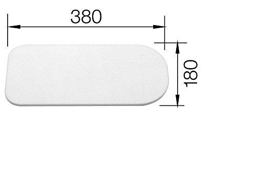 Schneidbrett PE weiß CLASSIC-BOX 6S