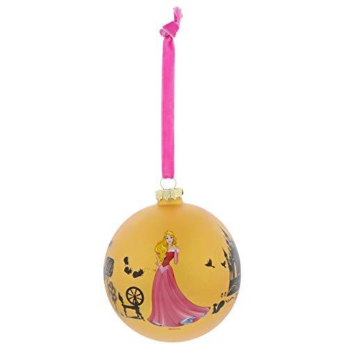 Enchanting Disney Palla di Natale la Bella Addormentata nel Bosco, 10.5 cm