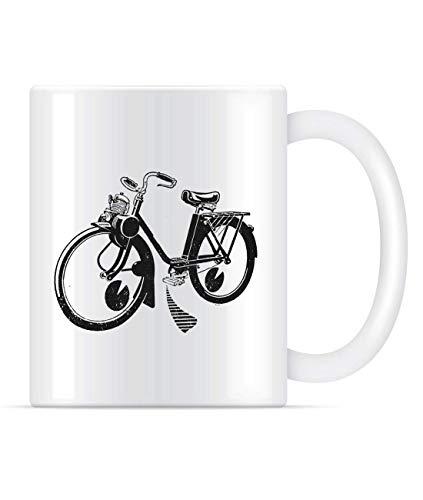 N\A Solex Golden Solex Fahrrad Fahrrad Kaffeetasse für Frauen und Männer Teetassen