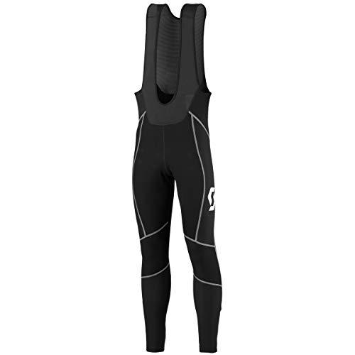Scott - Lange Radsport-Hosen für Jungen in Schwarz/Weiß, Größe 54-56