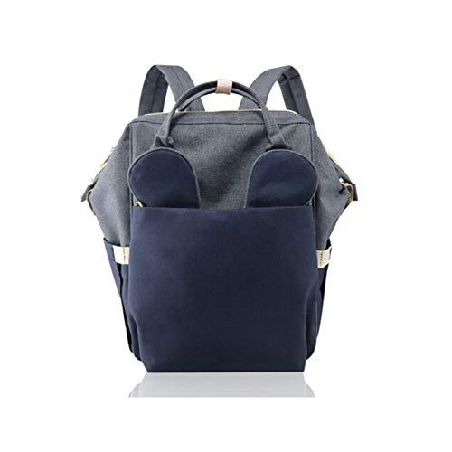 Qiaoxianpo01 Windel Rucksack, Neue multifunktions Rucksack, Mode tragbare benutzerdefinierte Jugend Stil (Stil 1/2/3) (Color : Style 3)