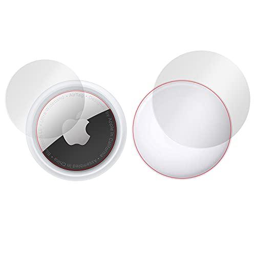 ミヤビックス Apple AirTag 用 表面・背面セット 曲面対応 TPUフィルム 傷修復 衝撃吸収 OverLay FLEX OFAIRTAG/S/12