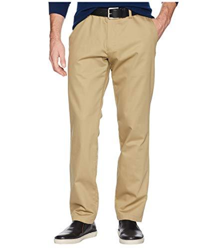 Dockers Men's Athletic Fit Signature Khaki Lux Cotton Stretch Pants, New British, 33W x 30L