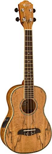 Oscar Schmidt Spalted Mango TENOR Acoustic/Electric Ukulele, OU7TE