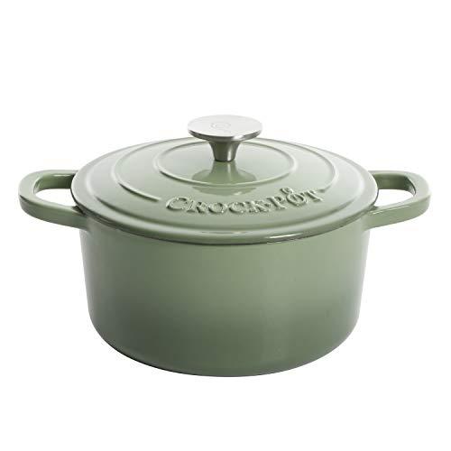 Crock Pot Pistachio Green 3 Qt Enameled, 3-Quart