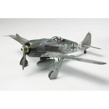 タミヤ 1/48 傑作機シリーズ No.95 ドイツ空軍 フォッケウルフ Fw190 A-8/A-8 R2 プラモデル 61095