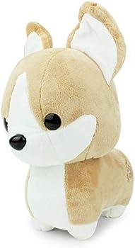 Bellzi Tan Corgi Cute Stuffed Animal Plush Toy
