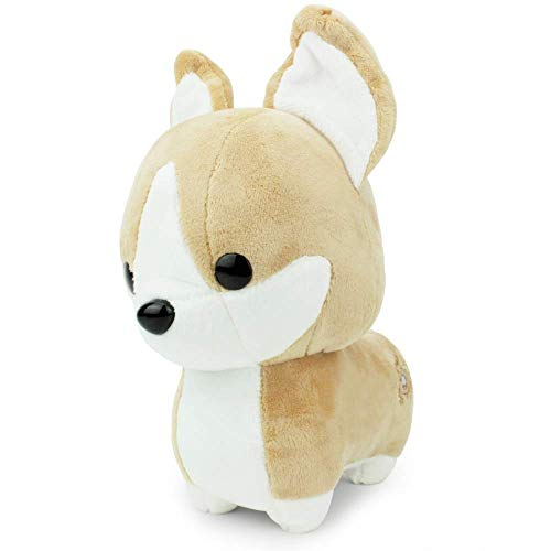 Bellzi Tan Corgi Cute Stuffed Animal Plush Toy - Adorable Soft Corgi Toy Plushies and Gifts - Perfect Present for Kids, Babies, Toddlers - Corgi