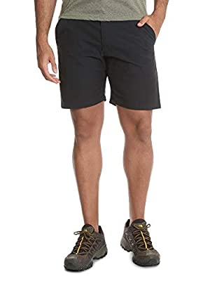 Wrangler Black Outdoor Performance Relaxed Fit at Knee Flex Cargo Shorts - 40