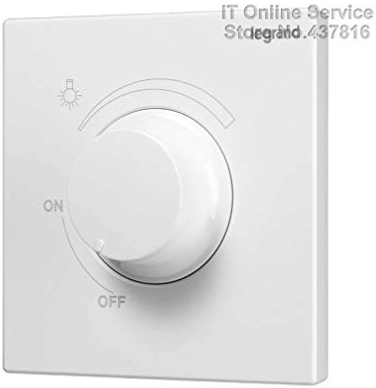 High Quality LED Lights Dimmer Switch 500W 220V Brightness Adjustment and Controller Knob Switch
