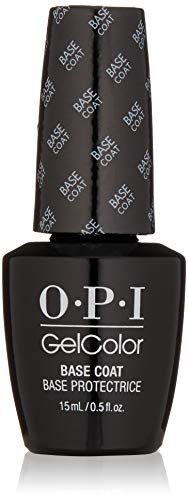 OPI gelcolor Nagellack base coat, 1er Pack (1 x 15 ml)