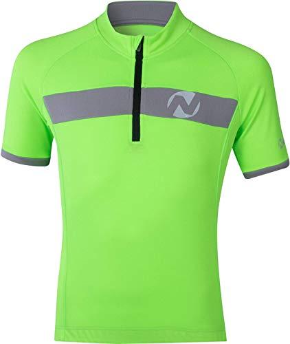Nakamura Kinder Fahrrad-Allen II JRS Trikot, Green Gecko, 140