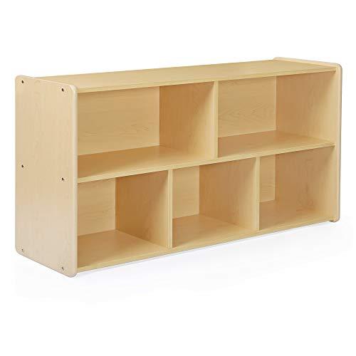 Guidecraft 5-Compartment Storage Shelves 24