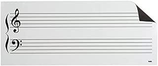 Optima Dry Erase Music Staff Magnets (17 1/2