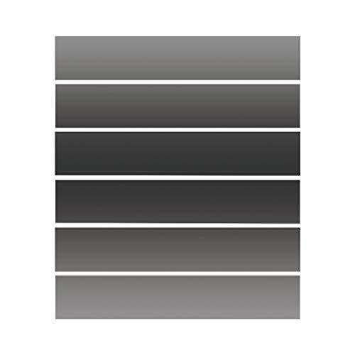S-TROUBLE 6 Piezas de Color sólido Impermeable Suelo de baldosas escaleras Pegatinas baño Cocina decoración Mural calcomanías Papel Tapiz artístico