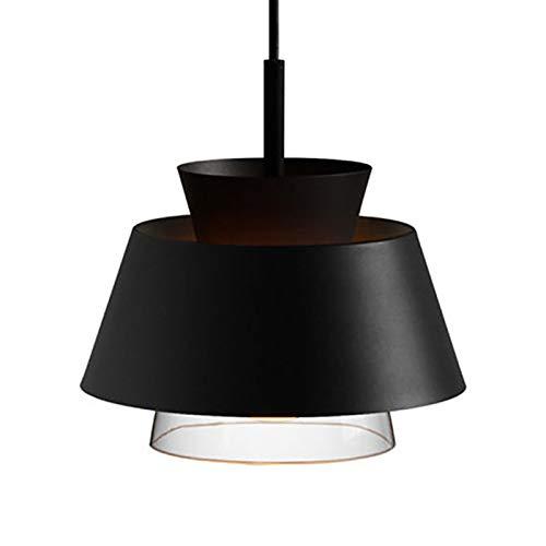 Lámparas de araña Nordic restaurante de una sola cabeza de la lámpara moderna minimalista personalidad creativa europea Style Cafe Bar Moda Tienda de ropa del hierro de la lámpara de cristal lamparas