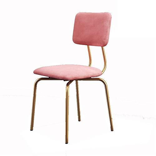 Möbeldekoration Hocker Stuhl Nordic Garden Eisen Barhocker Stuhl Romantisch gestaltete Make-up Freizeit Hocker Handgefertigte Sitz für Pub Frühstück Essen Einfache Montage (Farbe Größe: Sitzhöhe 45