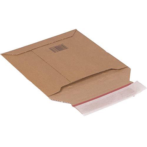 Karton Versandtasche aus Wellpappe CD 158 x 203 x 28 mm Wellpappversandtasche Versandkarton Paketversand 25 Stück
