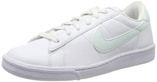 Nike Wmns Tennis Classic 312498-135, Scarpe da Ginnastica Basse Donna, Bianco (White/Fiberglass), 38 EU