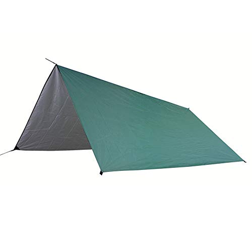Outdoor Camping Tent Outdoor Camping Tent Waterproof Canopy Sun Protection Canopy Outdoor Hammock Easy to Build a Tent by Yourself (Color : Green, Size : 3-4 persons)