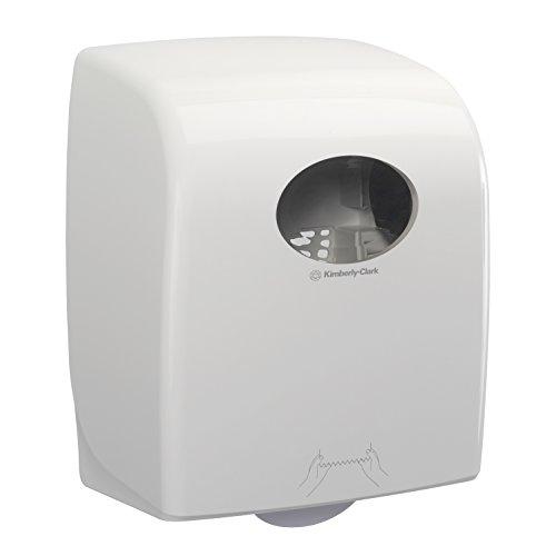 Dispensador de secamanos en rollo Aquarius 7375 - 1 dispensador de secamanos blanco