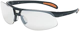 Uvex by Honeywell Protege Safety Glasses with Sandstone Frame and SCT-Reflect 50 Polycarbonate Ultra-dura Anti-Scratch Hard Coat Lens