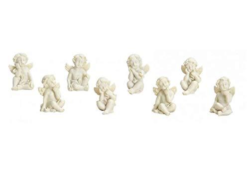 8 Stück Engel schöne Engelfiguren süsse Tischdekoration