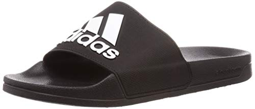 adidas Adilette Shower, Slide Sandal Mens, Core Black/Footwear White/Core Black, 42 EU