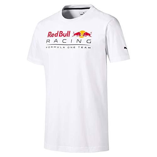 PUMA Red Bull Racing Logo T-Shirt (S, White)