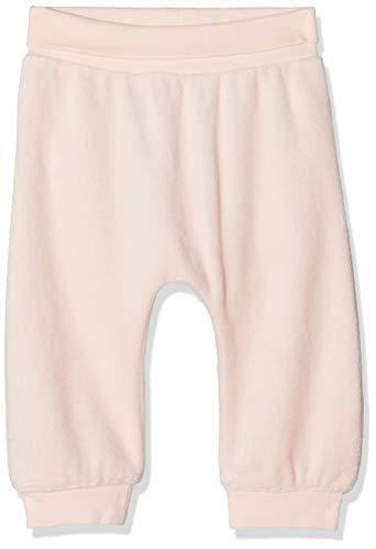 NAME IT Baby-Mädchen NBFTEMOON VEL Pant NOOS Jogginghose, Rosa (Strawberry Cream), (Herstellergröße:74)