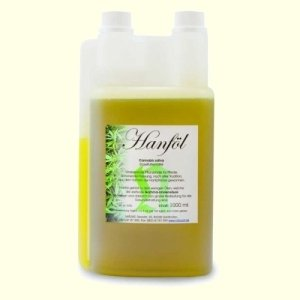 Natusat Hanföl Pferde - für Haut und Fellwechsel 1000 ml