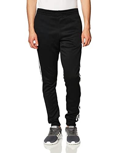 adidas SST TP P Blue, Pantaloni Sportivi Uomo, Black/White, S