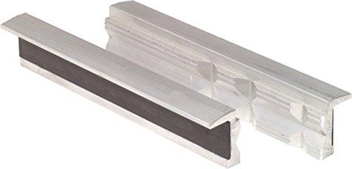 KS Tools 914.0085 Aluminium-Schraubstock-Schonbacken mit Trapeznutzen, 100mm