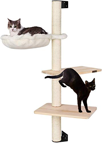 Photo de pedy-arbre-a-chat-double-plateforme-104-cm