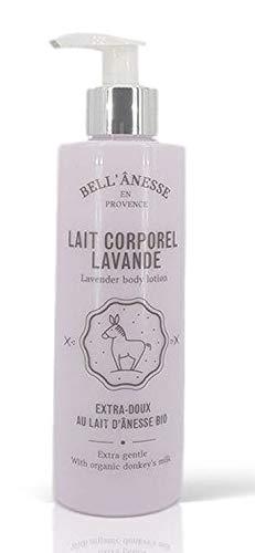 Lait corporel lait d'Ânesse lavande Bio 250ml Bell'Anesse en Provence