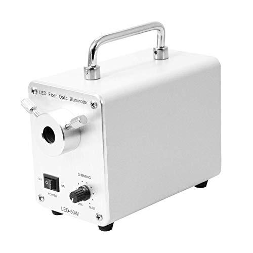 BoliOptics 50W LED Fiber Optic Illuminator Microscope Light Source Box ML21211311