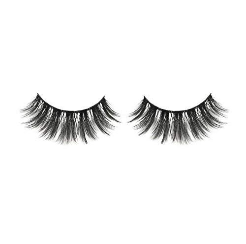 nacot False Eyelash Long Strip Lashes Handmade, Black, 1 Pair
