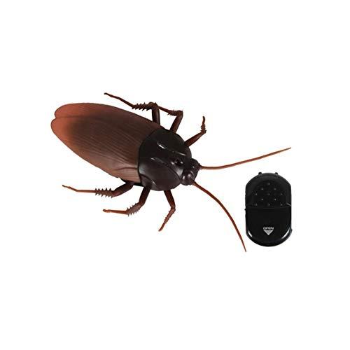 Apofly Broma De Control Toyremote Artificial Cucaracha Eléctrica Simulación De Inducción Cucaracha Juguetes De Control Remoto por Infrarrojos Niños De Juguete 9916 Tipo 1pc