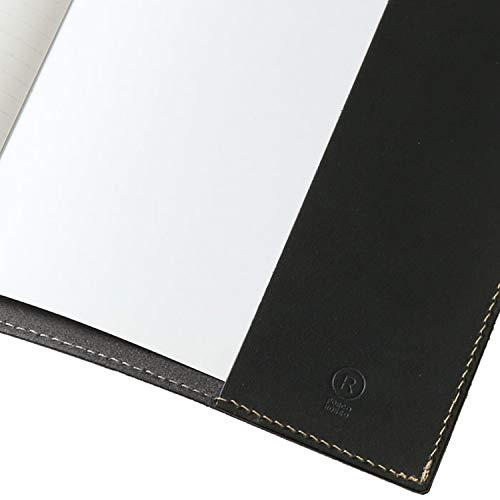 [PORCOROSSO]A5手帳カバーノートカバーオリジナル栃木レザー日本製本革キャメル