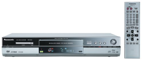 Panasonic DMR-HS2 Progressive-Scan DVD Recorder/PVR with 40 GB Hard Drive (Silver)