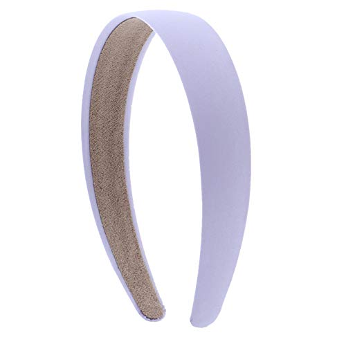 1 Satin Headband -Lavender