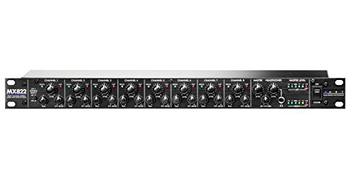 Art MX822 Mixer Stereo A 8 Kanal A Rack