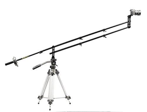 Glide Gear JB4 Portable 4 Ft Jib Crane w/ Carry Case 0-6 lbs Cameras