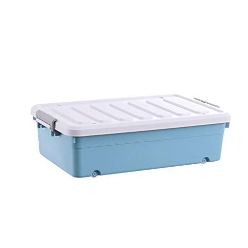 NE-xj Bed opbergdoos Uittrekbare lade onder bed opbergbox organizer voor kleding, quilts, etc.