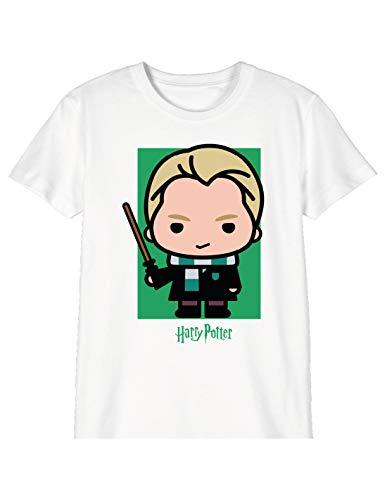 cotton division Bohapomts103 T-Shirt, Bianco, 10 Anni Bambina