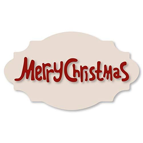Pixie Stanssjabloon, knutselen, vrolijke kerst, cirkels, frame, uitsparingen van metaal, meurt, sjabloon, knutselen, scrapbooking, gravure, meurt, handwerk, papier, kaart, productie met reliëf