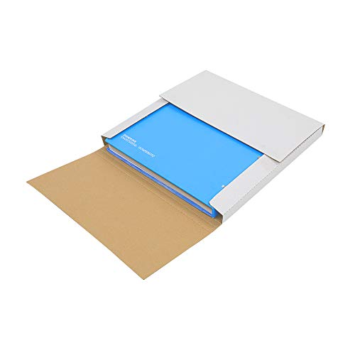 Kshioe 25 Packs White Vinyl Record LP Shipping Mailer Boxes, 12.5in12.5in1in Record Mailers, Album Paper Box, Record Album Mailer