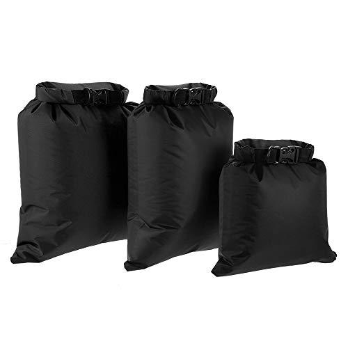 Lixada 3ST wasserdichte Tasche(3L + 5L + 8L) für Camping Wandern Reisen, Hochwertiges Ripstop Polyestergewebe (4)
