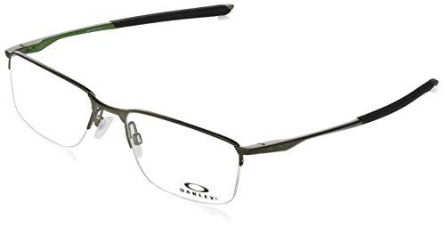 Oakley 3218, Monturas de Gafas para Hombre, Gris (Satin Pewter), 52